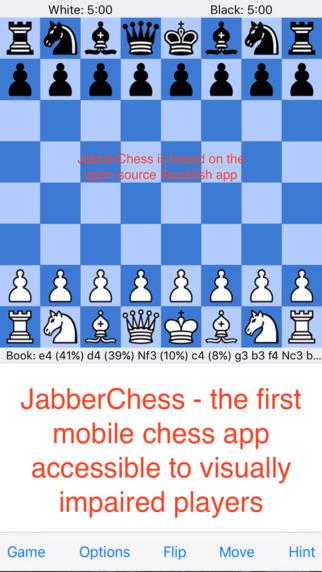 JabberChess, A Mobile Chess App Speech Recognizer for Visual